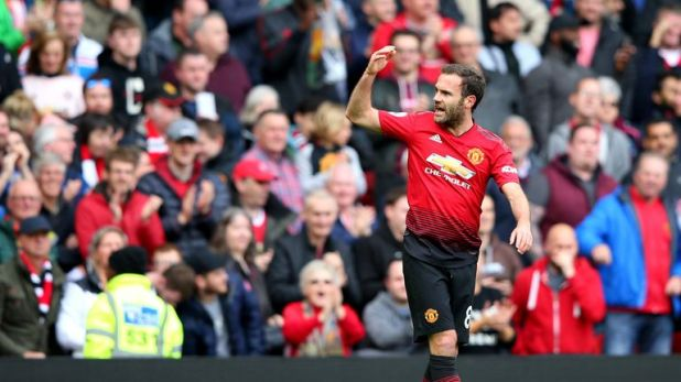 Juan Mata has won the FA Cup, League Cup and Europa League with Man United