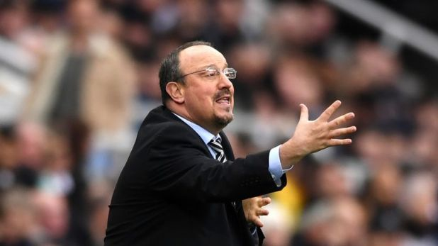 Rafael Benitez left Newcastle when his contract expired at the end of June