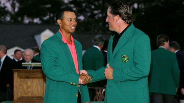 Tiger Woods has now earned more than Phil Mickelson at the Masters