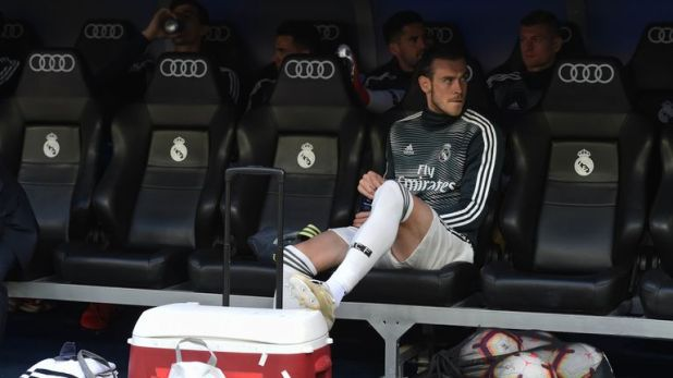 Bale was left on the bench for the duration of Real's final-day defeat to Real Betis