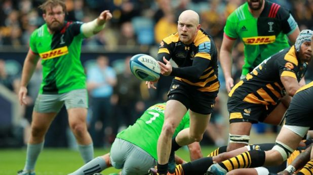 Joe Simpson signed off for Wasps in style