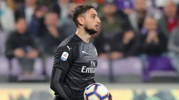 Donnarumma was just 16 when he made his first team debut for AC Milan