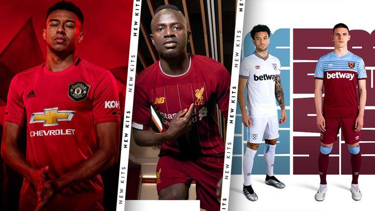 New Premier League Kits For The 2019 20 Season Football