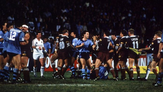 State of Origin has always proved fiery affairs