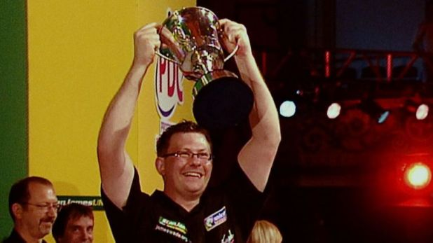 James Wade lifted the Matchplay title in 2007