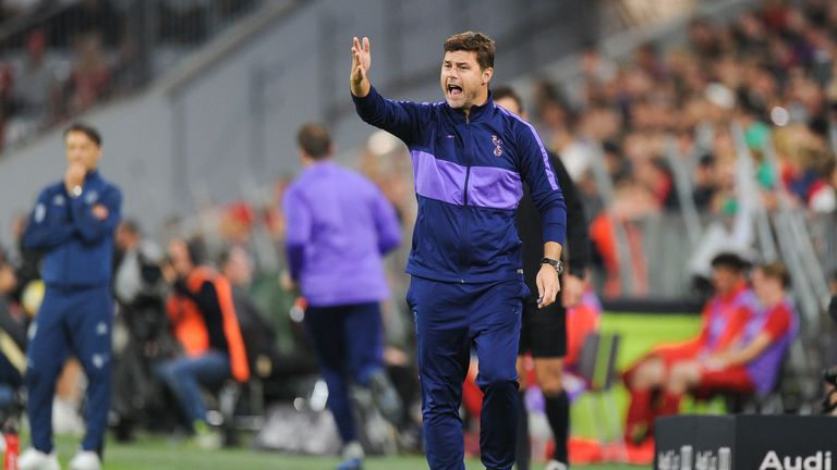 Mauricio Pochettino was delighted with Spurs' showing in the Audi Cup