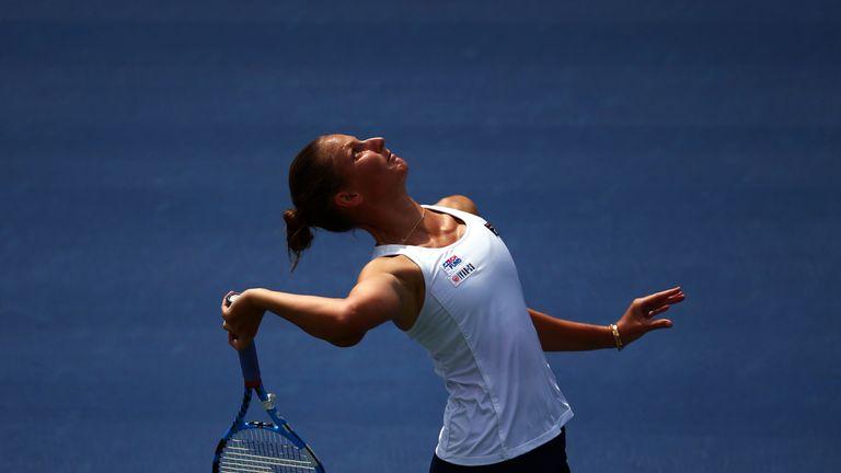 Karolina Pliskova won 80 per cent of first-serve points against Anett Kontaveit