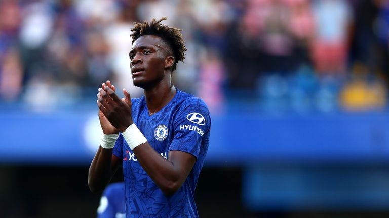 Tammy Abraham received abuse after missing a penalty against Liverpool