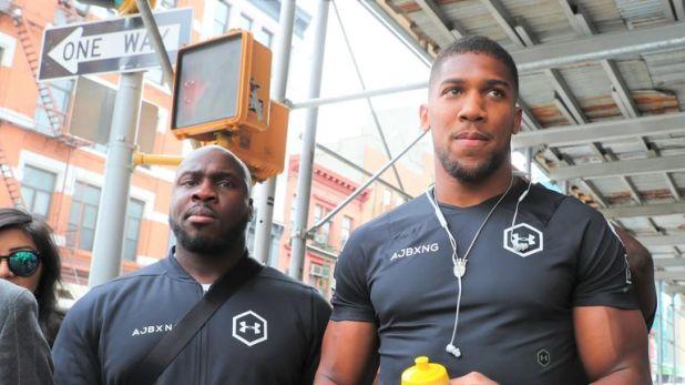 Joshua's cousin Ben Ileyemi, nicknamed 'Benga', is part of his team