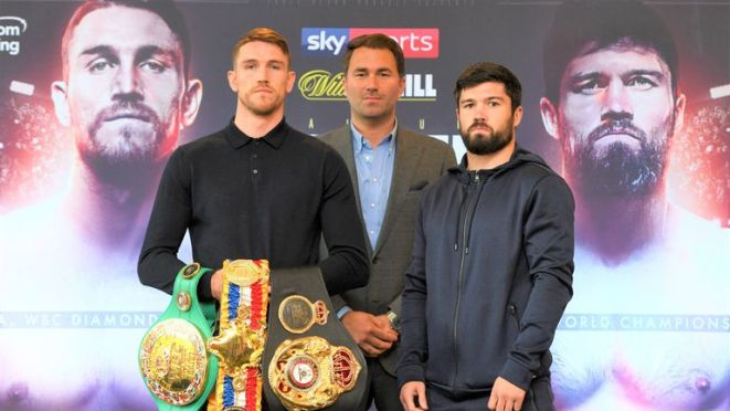 Smith faces John Ryder at the Echo Arena in Liverpool