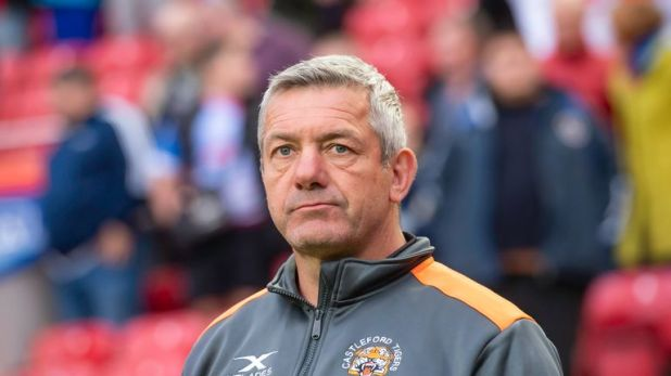Tigers coach Daryl Powell saw his side fall to defeat at Wigan