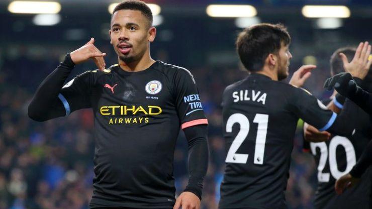 Gabriel Jesús volvió a los goles el martes en Burnley