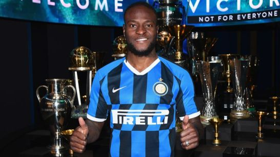 Victor Moses was a Premier League winner with Antonio Conte in 2017 at Chelsea