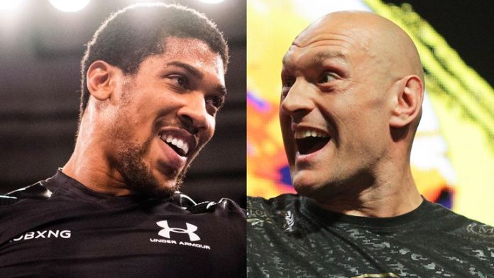 Anthony Joshua and Tyson Fury hold all the big heavy belts