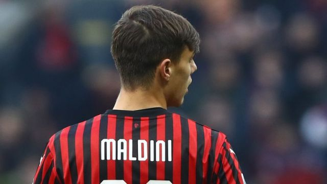 Daniel has followed in the footsteps of father Paolo and grandfather Cesare by playing for AC Milan