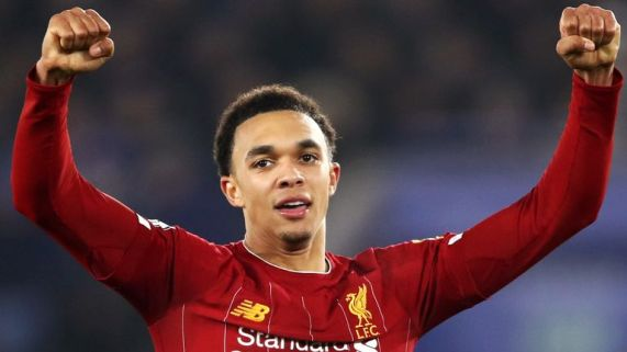 Trent Alexander-Arnold helped Liverpool win their first top-flight title in 30 years