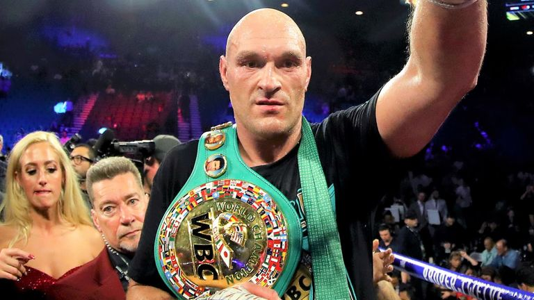 New WBC champion Tyson Fury will face Deontay Wilder again