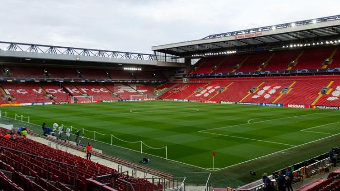 There will be no supporters at Anfield for Wednesday's match against Chelsea
