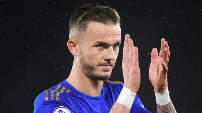 Manchester United had an interest in signing James Maddison  in January