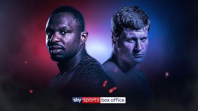 Dillian Whyte battles Alexander Povetkin live on Sky Sports Box Office
