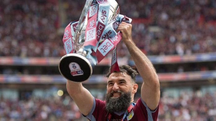 Jedinak was released by Aston Villa after their promotion to the Premier League in 2019