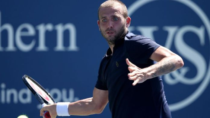 Dan Evans came through a tough encounter against Andrey Rublev