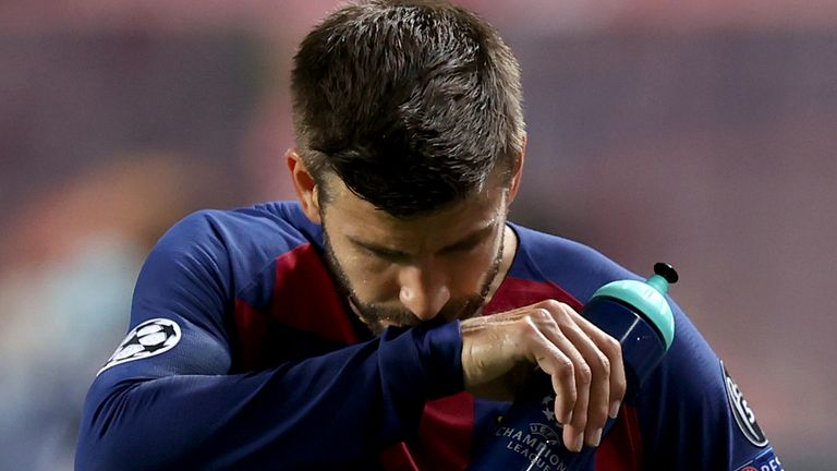 Gerard Pique has offered to leave Barcelona if it will improve the club