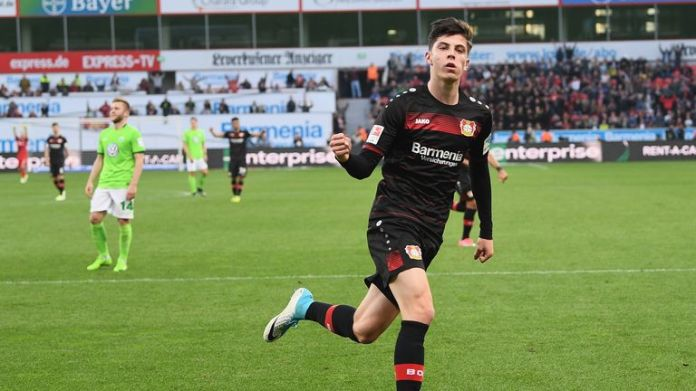 Kai Havertz has been playing first-team football for Leverkusen since the age of 17