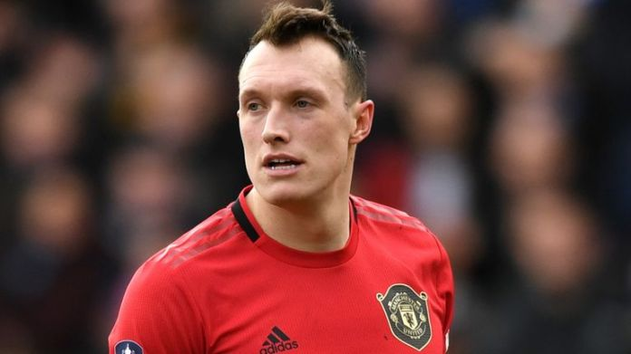 Phil Jones made eight appearances for Manchester United last season