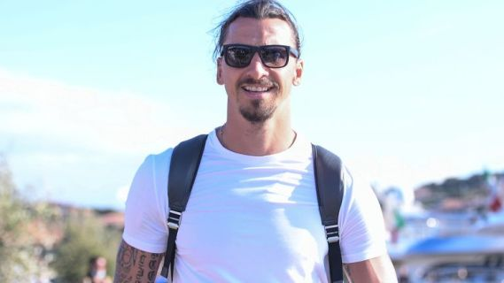 Zlatan Ibrahimovic returned to Milan from the LA Galaxy in January