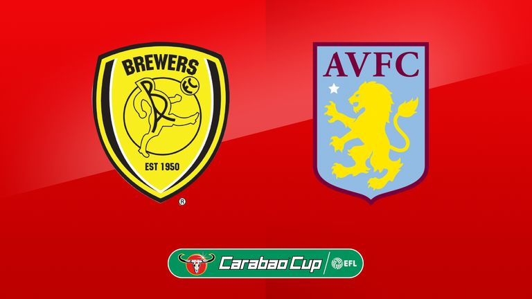 Carabao Cup On Sky Burton Albion Host Aston Villa In