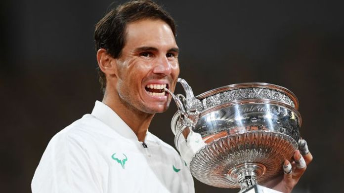 Rafael Nadal won 100 matches at Roland Garros with just two losses