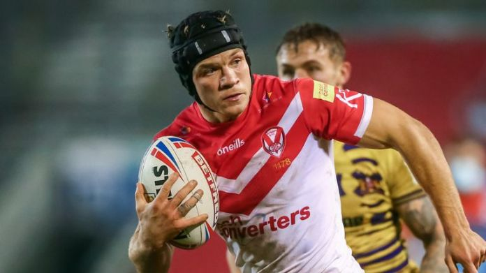 Jonny Lomax played amateur rugby in Wigan, but his heart has always been with St Helens