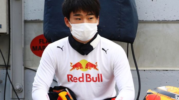 Yuki Tsunoda had his first experience of an F1 car at Imola on Wednesday