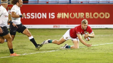 Harris scored the opening try for the Lions
