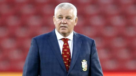 Lions coach Warren Gatland saw his players run out 71-31 winners against the Sharks in Pretoria on Saturday