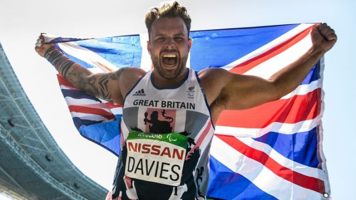 Aled Davies has been selected as one of the co-captains of the the ParalympicsGB athletics team