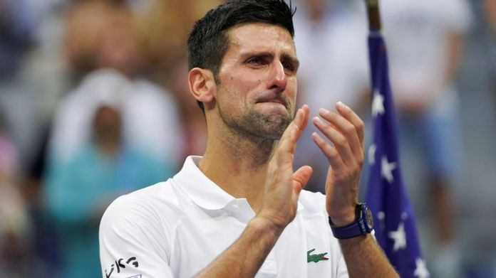 Djokovic welled up at the backing he received from the New York crowd