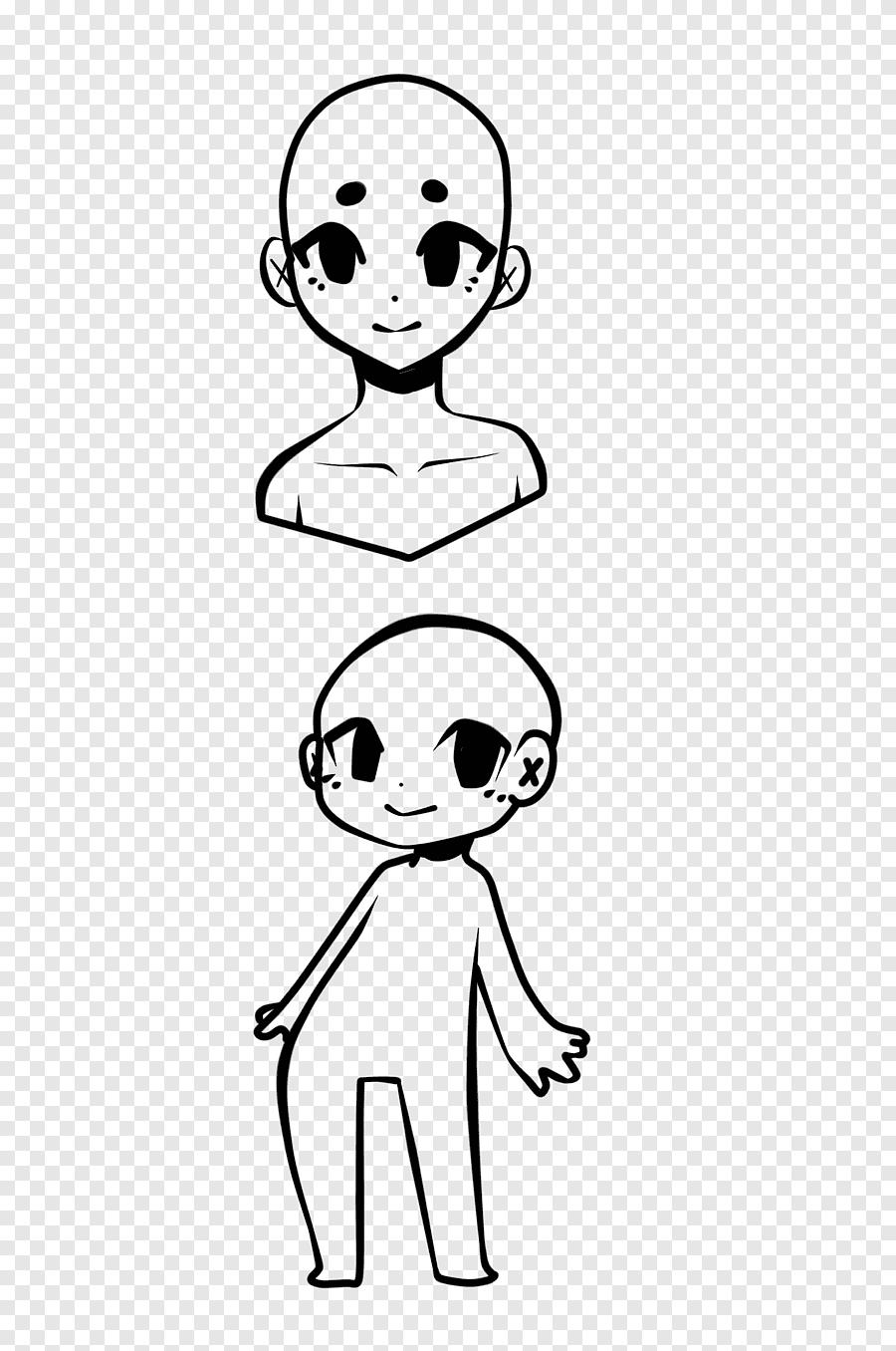 Chibi Base Boy : chibi, Chibi, Base,, Boy's, Profile, Cartoon, Character, Illustration,, PNGEgg