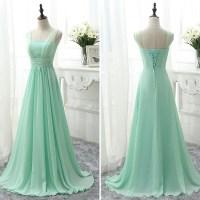 Sweetheart Bridesmaid Dress With Belt, Modern Chiffon ...