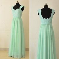 Sage Lace Bridesmaid Dresses, Sweetheart Floor-length ...