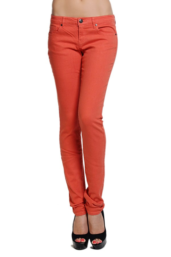 Themogan Women' Juniors Basic Colored Rise Stretch