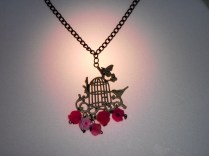Birdhouse roses