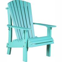 LuxCraft Poly Royal Adirondack Chair (High Back