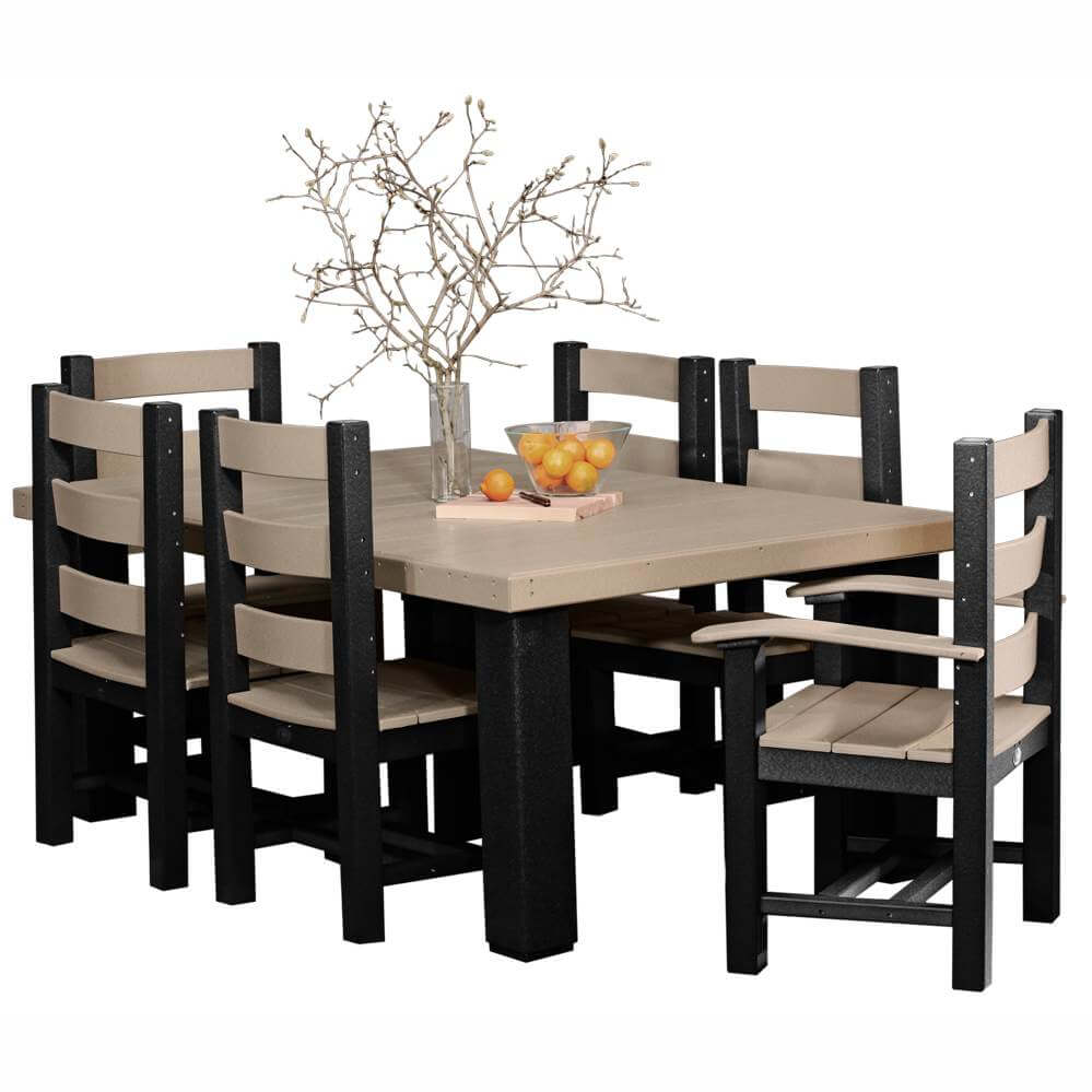 table chair set high pads for wooden chairs dining sets hostetler s furniture