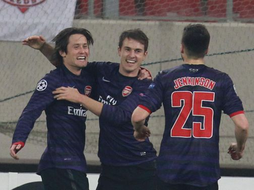 Rosicky: Gunners must stick together
