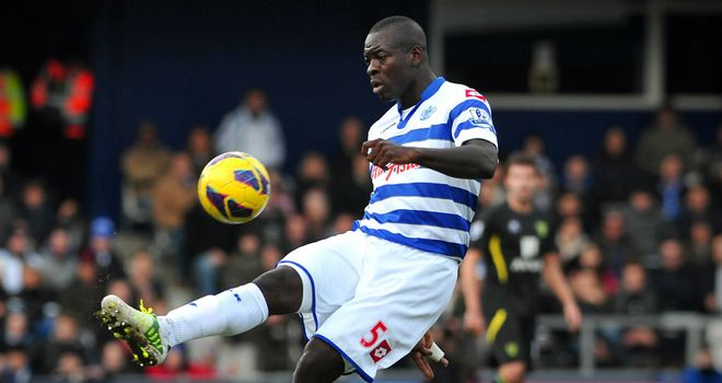 Christopher Samba in action for QPR