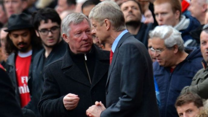 Image result for wenger fergie