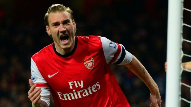 The Danish striker began his career at Arsenal
