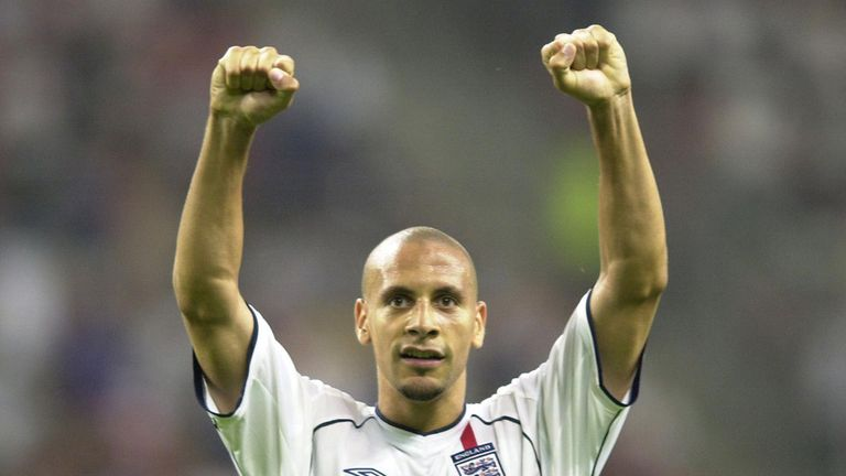 Image result for rio ferdinand 2002 world cup